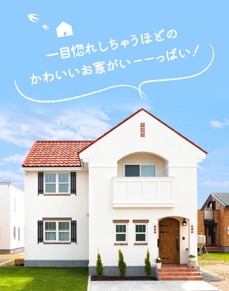 一目惚れしちゃうほどのかわいいお家がいーーっぱい!