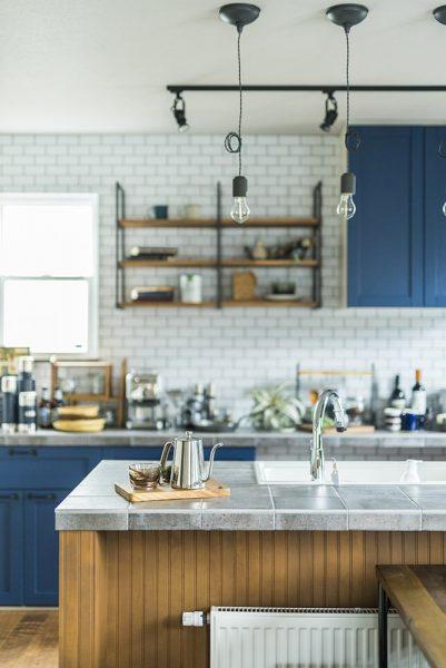 コロニアルモデルハウスキッチンのイメージ