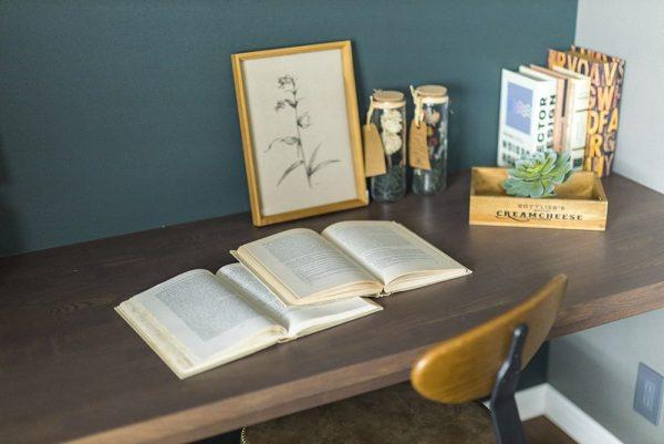 コロニアルモデルハウス書斎のイメージ